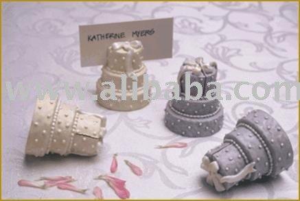 See larger image Wedding Cake Place Card Holder