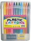 color crayon set(plastic crayon set, stationery)