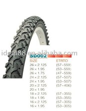 bicycle tyre(26X2.125,26X1.75/1.95,24X2.125,24X1.95,20X2.125,18X1.95,16X1.95/2.125)