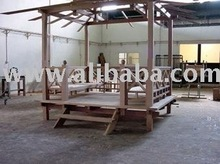 Bale Gazebo WOODEN OUTDOOR LOUNGES