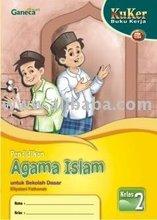 Buku Kerja Agama Islam SD 2 KTSP Book
