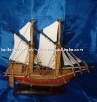 Small Vikingboat model