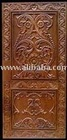 Exquisite hand carved door