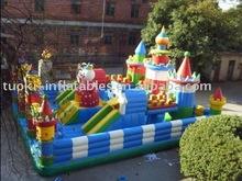 inflatable fun city, amusement park , giant inflatable bouncer