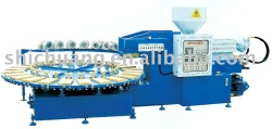 PVC Shoes Air Blowing Injection Moulding Machine