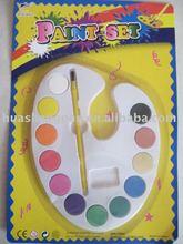 water color cake(dry water color ,water color paint set)