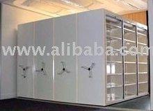 System R mobile shelving