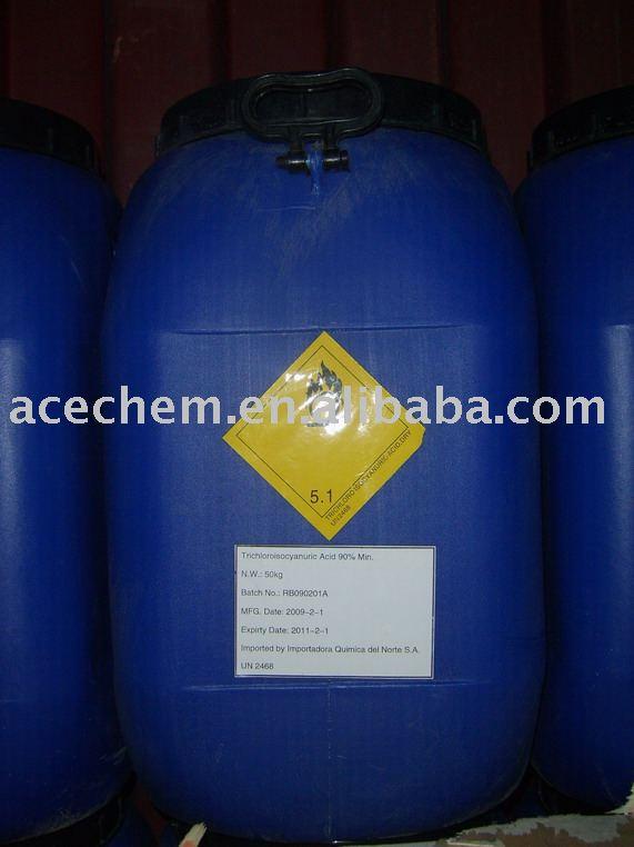 Ascorbic Acid Tablet. Trichloroisocyanuric acid