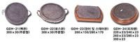 Stone utensils(Grill for globefish, eel, barbeque, stare pan, stare pan, pizza fan)