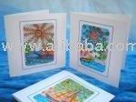 WIND 4 SAIL (Original hand painted card/invites)