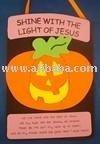 Shine With The Light Of Jesus Pumpkin Craft Kit