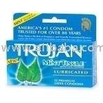 Condones Trojan mint tinglet