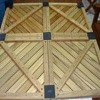 Teak Wood Patio Tiles