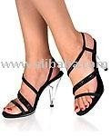 (CAR424) 4 inch strappy heel..discounted priceby 27-D4