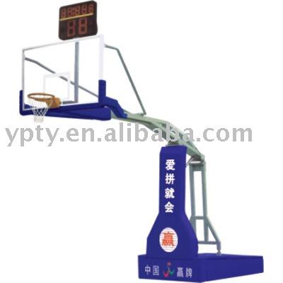 Manual-Hydraulic Basketball stand