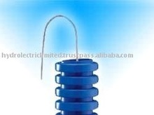 Medium Light blue Pliable Conduit