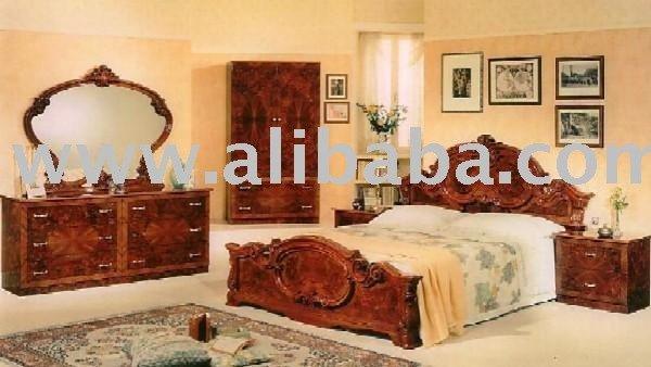 Ensemble de chambre coucher de mod le de noix de barocco for Voir chambre a coucher