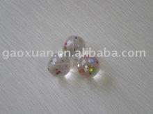 Glitter bouncing ball