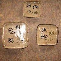 Appetizers plates set
