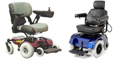 sillón de ruedas de la corriente eléctrica - BRUNO