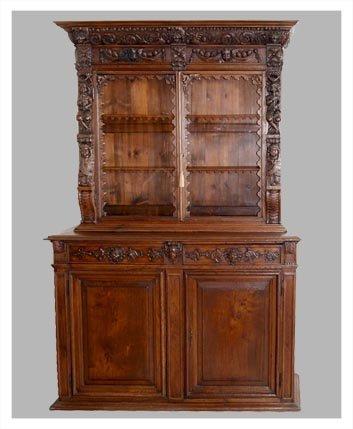 Original 17th Century Renaissance cabinet