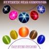 Synthetic star gemstone Sapphire stone Ruby stone,Cats eyes Gemstone