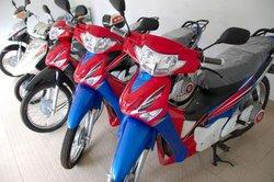 SMV hybrid motorcycles