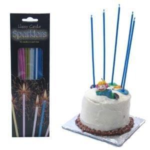 Cumpleaños de la vela luces de bengala ( set de 18 )