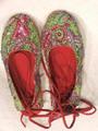 traviesas de sandalia