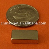 1/2 in x 1/8 in x 1/4 in Rare Earth Neodymium NdFeB Block Magnets, Grade N42
