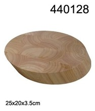 Liveon Woodworks 30*30*7 Rubber wood Cutting Board