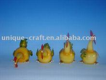 Chicken figurine,home decor,animal figurine