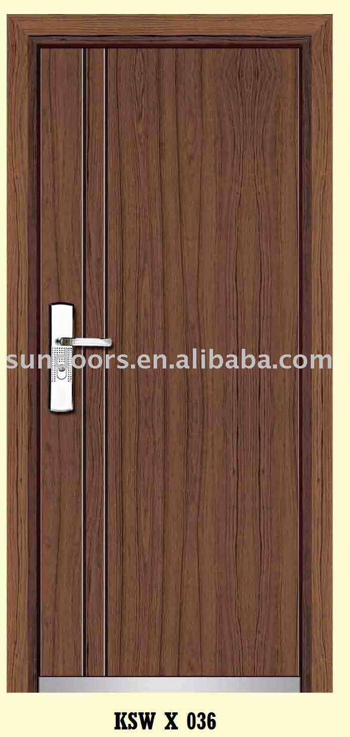 الخشب الصلب الباب مدرعة، الخشب الصلب