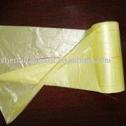 Star Seal Bags with PP String on Roll, Made of HDPE Material