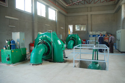 Francis water Turbine Generator