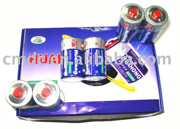 dry battery-R20 battery UM-1 1.5V battery