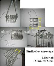 suet bird feeder, stainless steel bird feeder