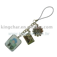 lapel pin badge mobile phone charm accessory