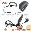 Two way Radio orelha gancho fone de ouvido com pequeno PTT para Motorola Iden Nextel modelo de rádio