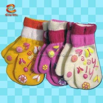 Guest Knitting Pattern: Roman Holiday Fingerless Mittens