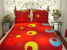 microfiber printing bedding set, duvet cover and pillow case