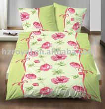 microfiber printing bedding set/ duvet cover and pillow case