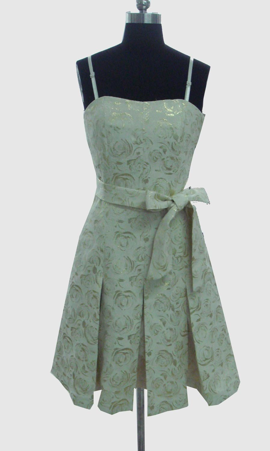 Ladies' pleat-gore Dress(China