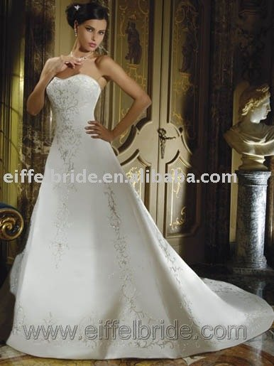 High Quality White Fairy Wedding Dress XHH09213
