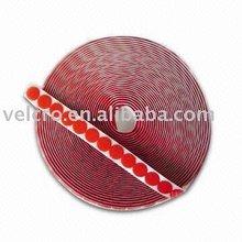 100% polyamid adhesive velcro dots