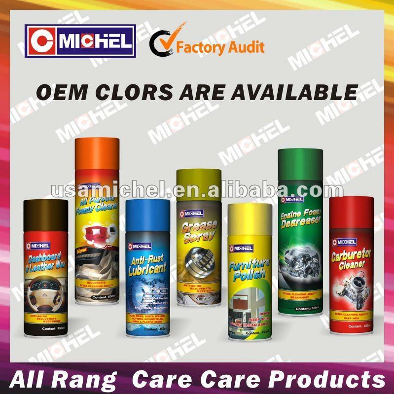 See larger image: Car Care product (dashboard cleaner, carburetor cleaner,