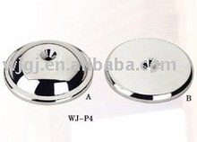 Chrome plated plastic cover