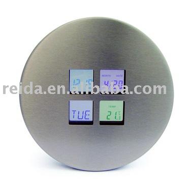 Stainless Steel Digital clock
