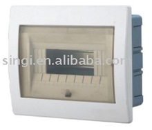 Metal Distribution Boxes with plastic cover GNB1009 9 ways