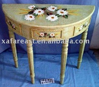 semicircular table